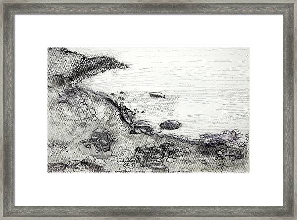 Kinnacurra Shore Framed Print