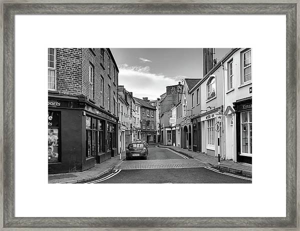 Kinsale Side Street Framed Print