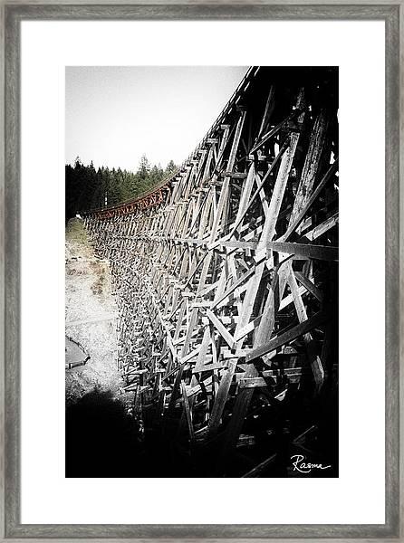 Kinsole Vintage Framed Print