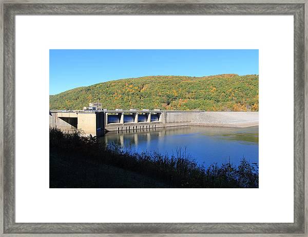 Kinzua Dam Framed Print