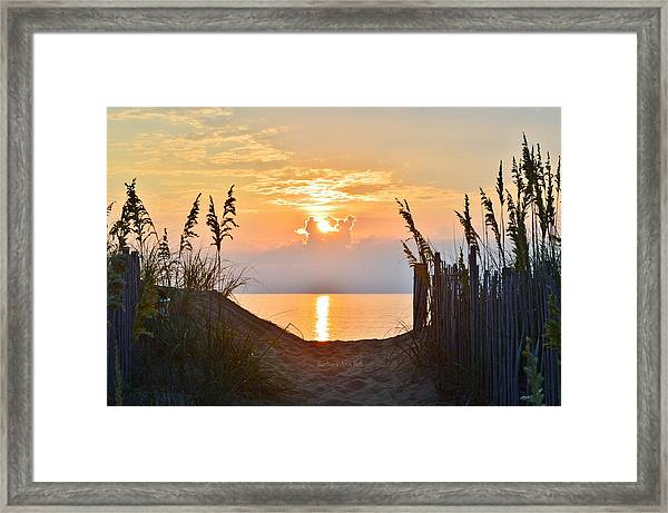 Kitty Hawk 7/28/16 Framed Print