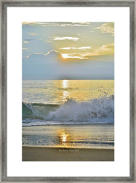 Kitty Hawk Sunrise 8/20 Framed Print