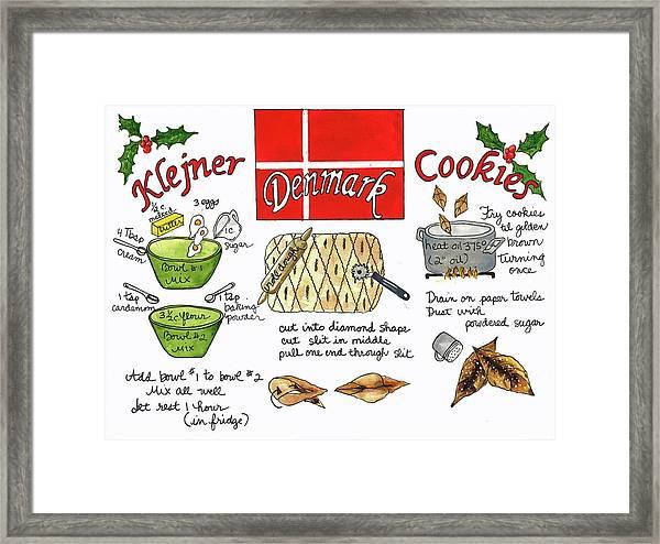 Klejner Cookies Framed Print