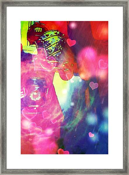Knight In Shining Armour Framed Print