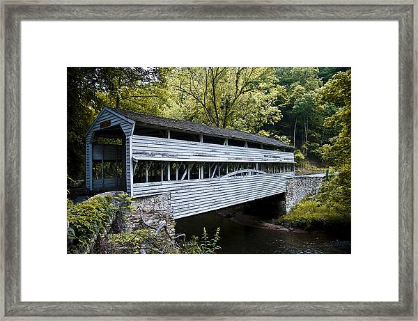 Knox Covered Bridge - Valley Forge Framed Print
