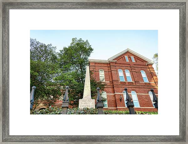 Knoxville Capital Monument Framed Print