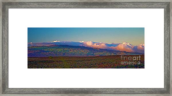 Kohala Mountains - Big Island Framed Print