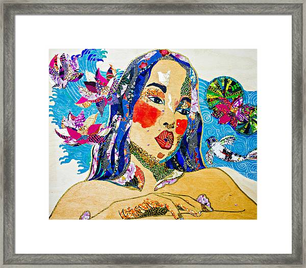 Koi Princess Framed Print