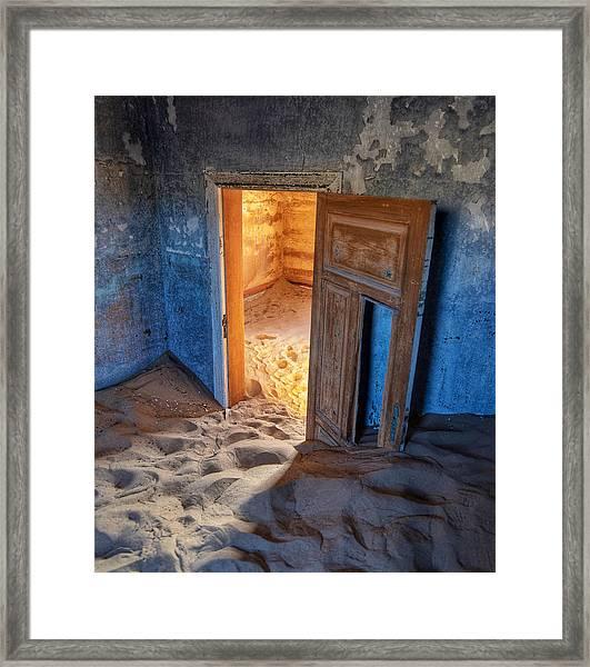 Kolmanskop Framed Print