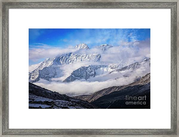 Kongde Ri Framed Print by Scott Kemper