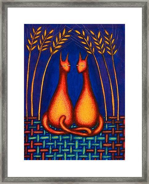 Kool Kats Framed Print