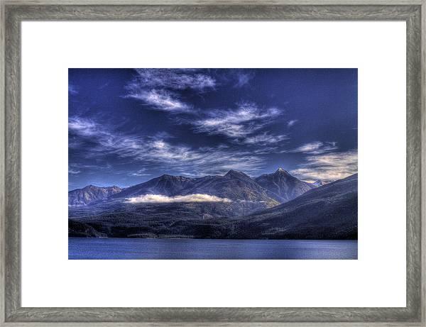 Kootenai Lake Bc Version 2 Framed Print