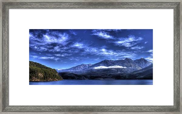 Kootenai Lake From Kaslo Framed Print