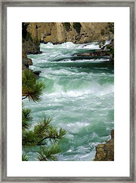 Kootenai River Framed Print