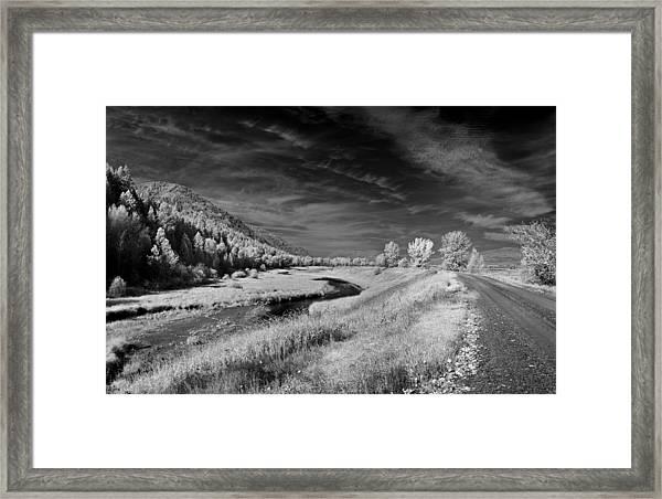 Kootenai Wildlife Refuge In Infrared 2 Framed Print