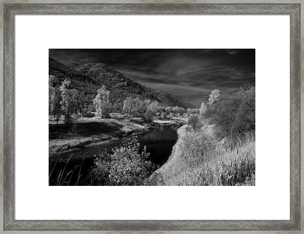 Kootenai Wildlife Refuge In Infrared 3 Framed Print