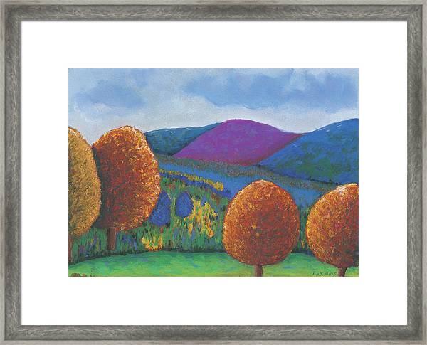 Kripalu Autumn Framed Print