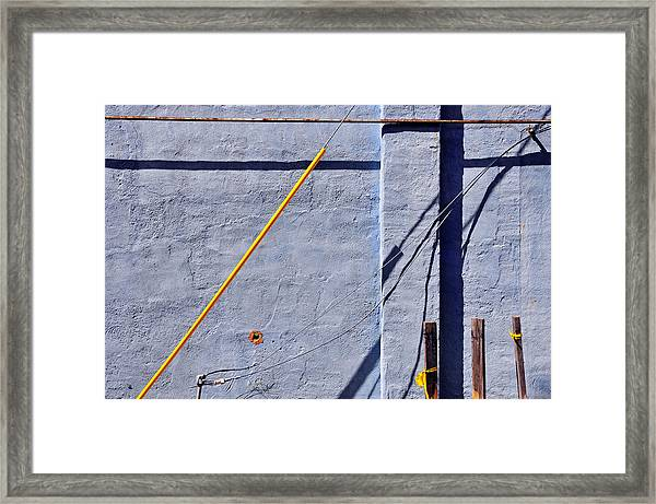 Framed Print featuring the photograph Krishna Blue by Skip Hunt