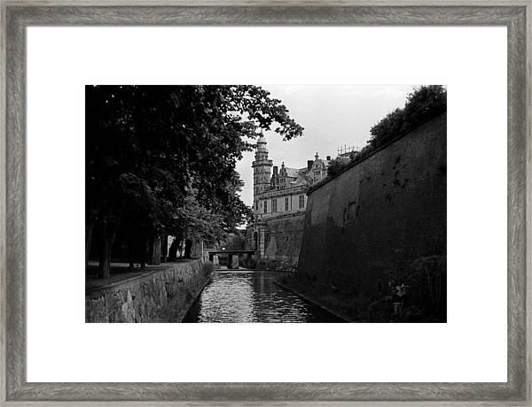 Kronborg Castle Is Hamlets Castle Framed Print