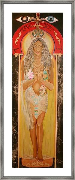Krsna Avatar Framed Print