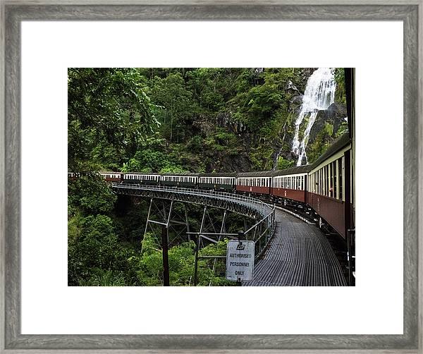 Kuranda Senic Railway Framed Print