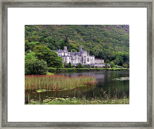 Kylemore Abbey, County Galway, Framed Print