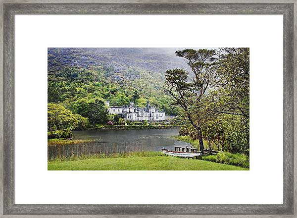 Kylemore Castle Framed Print