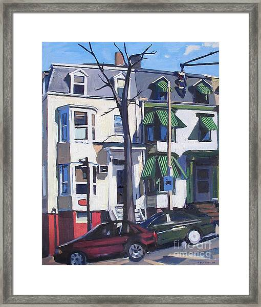 L And Broadway Framed Print