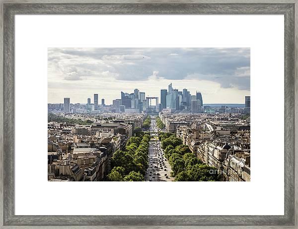 La Defense Paris Framed Print