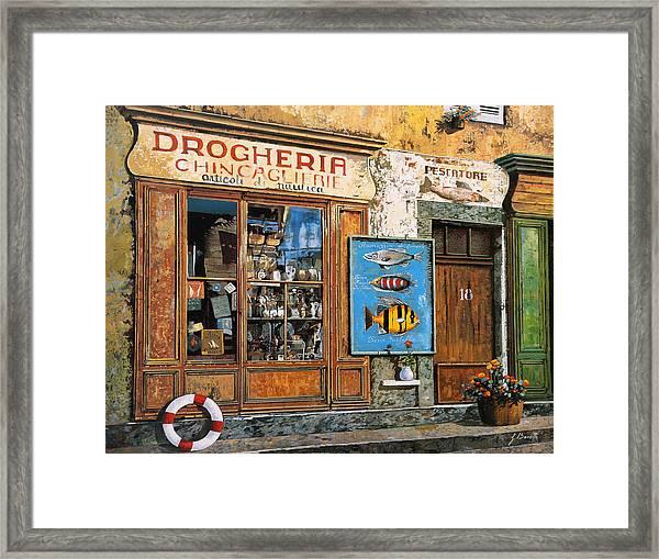 La Drogheria Framed Print