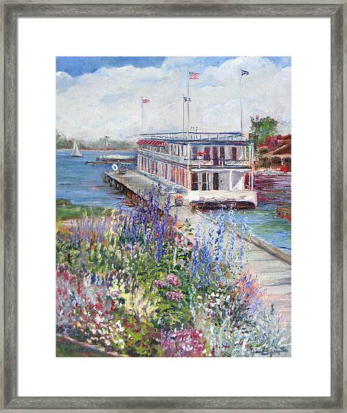 Framed Print featuring the painting La Duchesse by Jan Byington