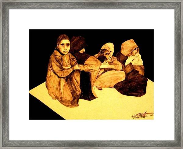 La It Khafeen Habibti Framed Print