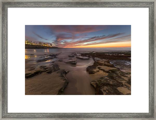 La Jolla After Dark Framed Print