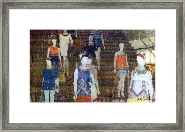 La Ladies Framed Print