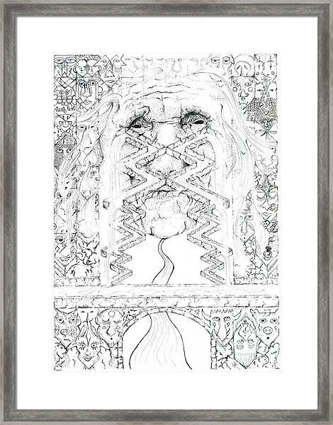 La Llorona Sombra De Arreguin Framed Print