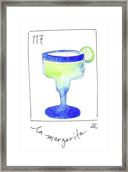 La Margarita Framed Print