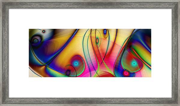 La Musica Llena El Aire Framed Print
