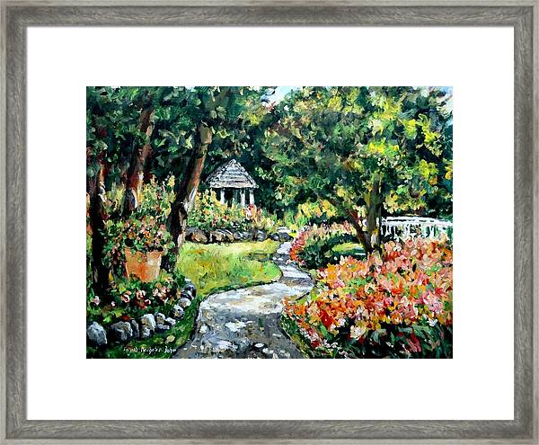 La Paloma Gardens Framed Print