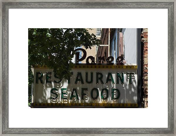 La Paree Framed Print