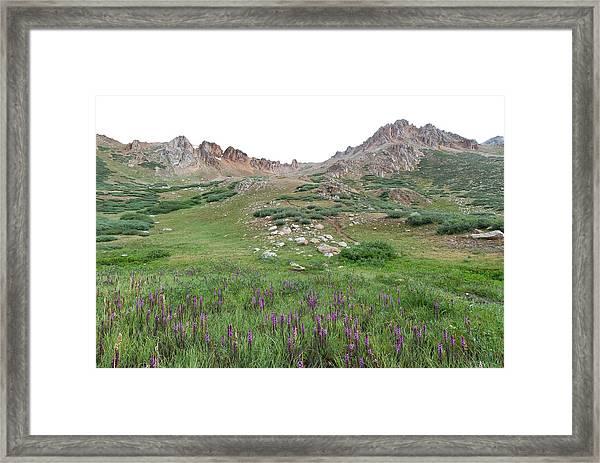 La Plata Peak Framed Print