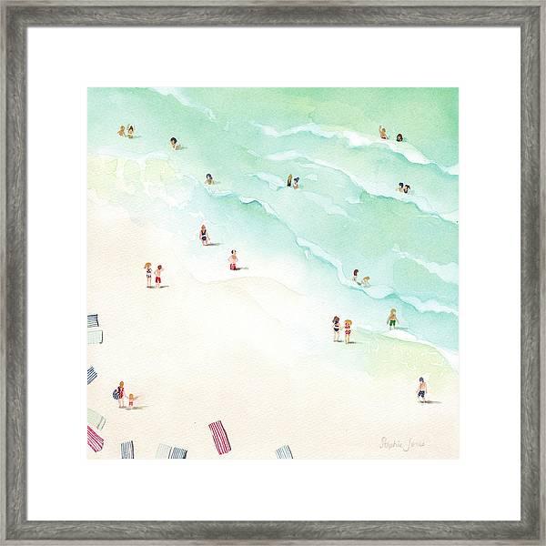 La Playa Framed Print