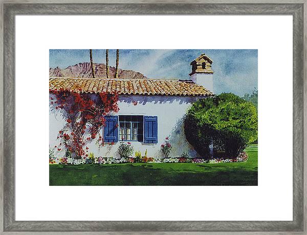La Quinta Casita Framed Print