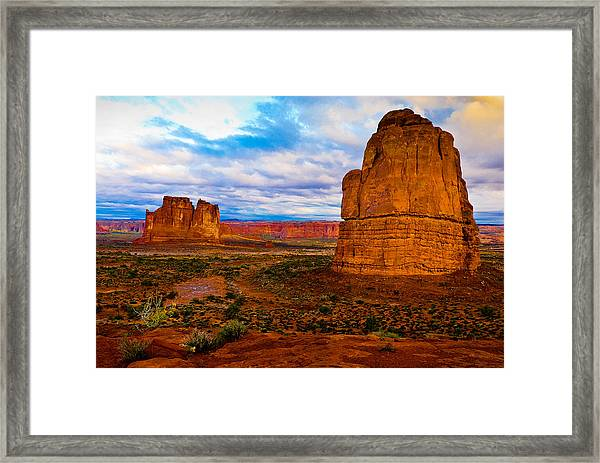 La Sal Daylight Framed Print