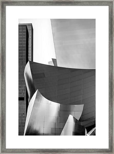 La Shapes Framed Print