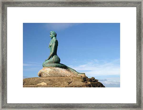 La Sirena Esterillos Oeste Costa Rica Framed Print