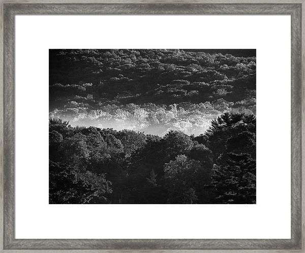 La Vallee Des Fees Framed Print