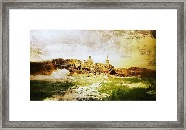 La Valletta Framed Print