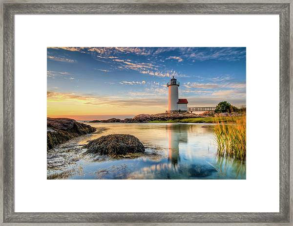 Labor Day Done Framed Print