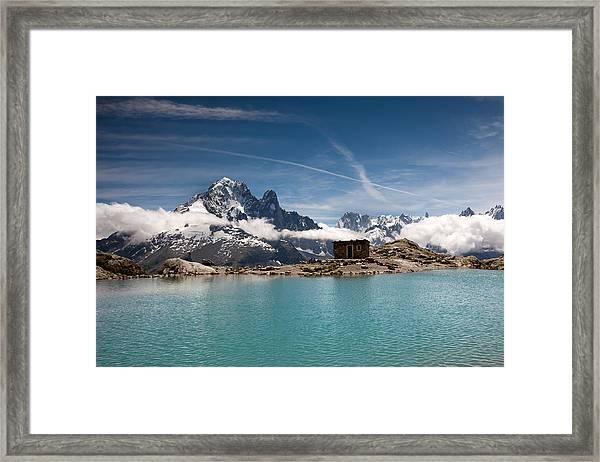 Lac Blanc Framed Print