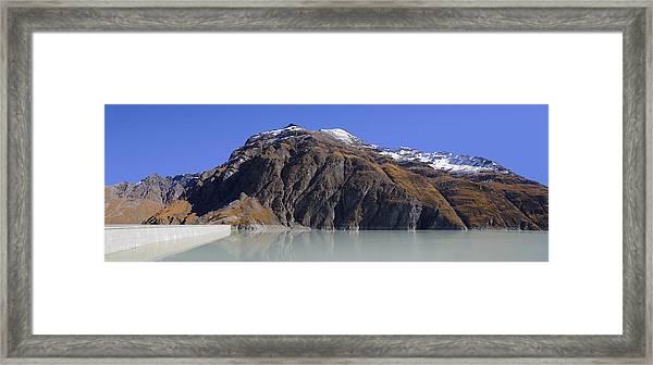 Lac Des Dix Framed Print